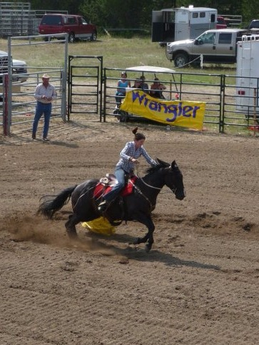 Valemount Rodeo with Lucky